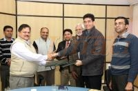 MOU Signed between Unati and IHBT, Palampur for R&D Support