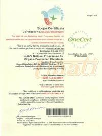 Organic certification for wild harvest resources NSOP