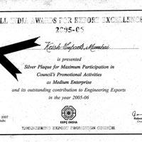 EEPC AWARD 2005-06