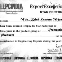 EEPC AWARD 2007-08