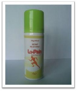 Lo-Pain Reliever Spray