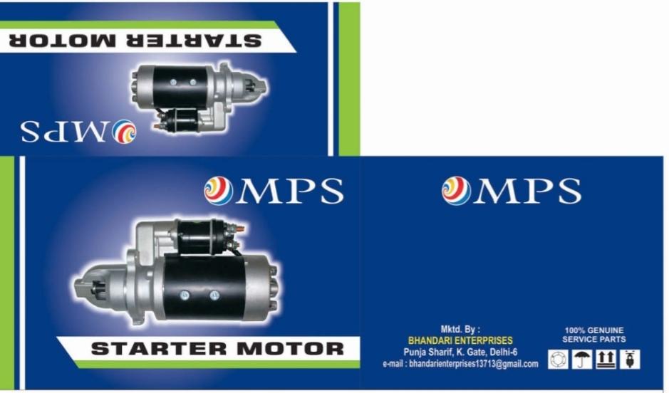 MPS Starter Motor