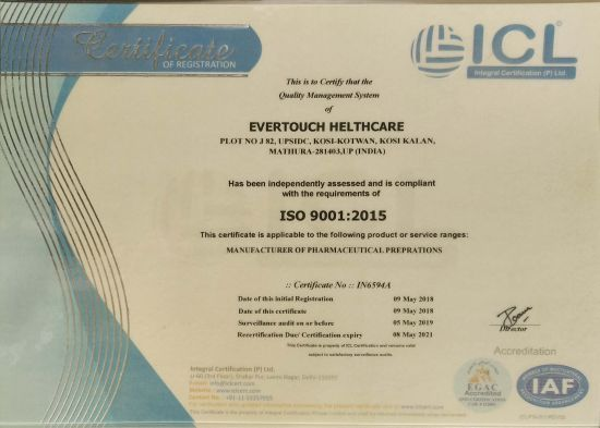 ICL - ISO 9001: 2015