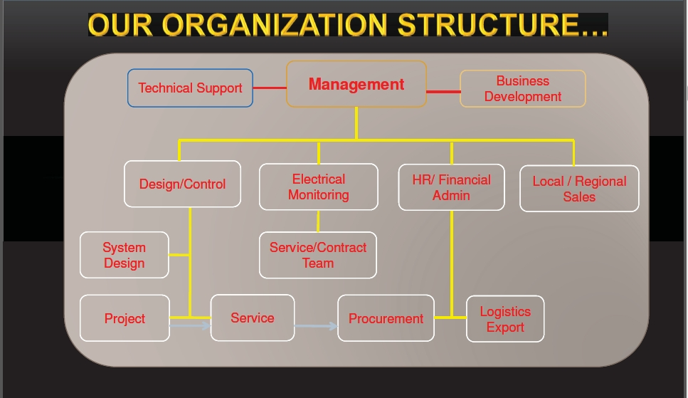 Our Organizational Structure
