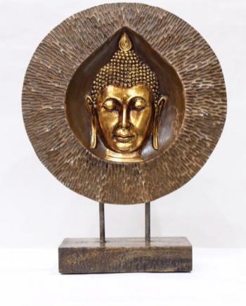 Copper God Statue