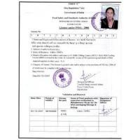 Licence Under Fssai - 2006
