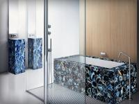 Bath Tub of Blue Agate