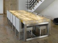 Semi Precious Stones Dining Table