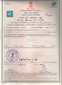 Trade Mark Registry Impacta V-30