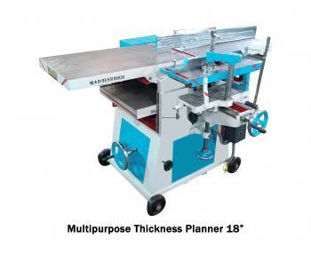 Multipurpose Thickness Planner Machine