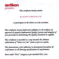 DOL Certificate