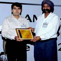 Supplier Recognition Award - AAM India