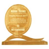 Supplier Summit 2011 Award