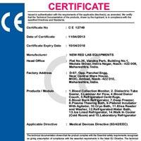 Certificate No. C E 12749