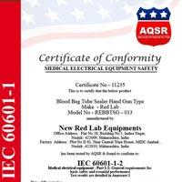 Certificate of Conformity 11235