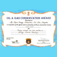 Oil & Gas Conservation Award