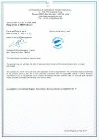 GOTS Certificate 04