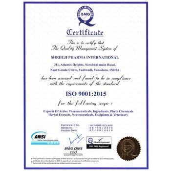 BMG Certificate