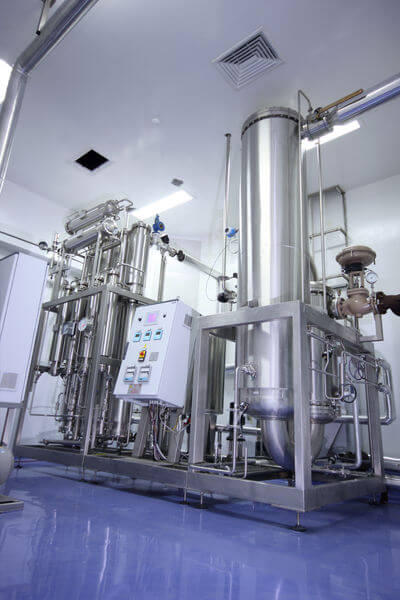 Filtration & Distillation At Pharmaceutical R&D Facility