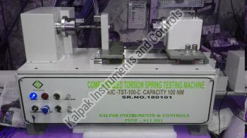Computerized Torsion Spring Testing Machine
