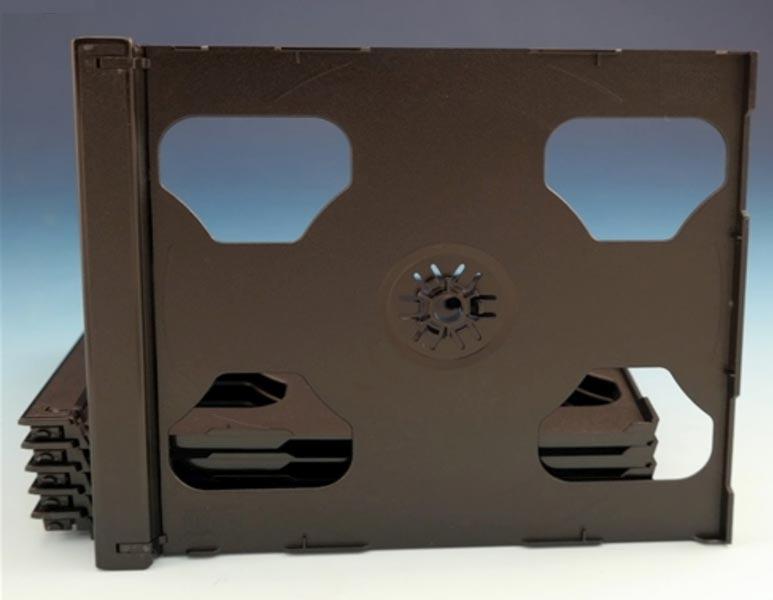 2-CD Smart Black Tray