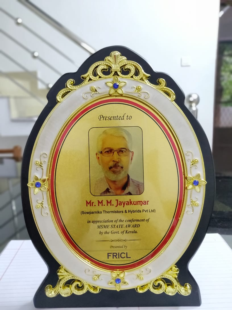 Felicitation By Fricl For Winning MSME State Level Award 02