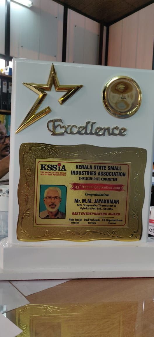 Felicitation By Kssia For Winning MSME State Level Award 02