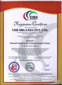 HACCP Certificate 01