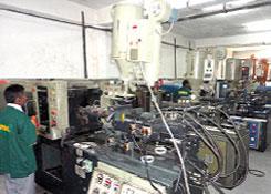Injection Plastic Moulding Plant