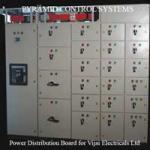 Power Distribution Board for Vijai Elecricals Ltd.