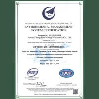 ISO Environment Certification
