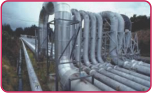 Water Pipe Lines