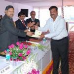 Sandeep Goel Takeing Award At Iari Pusa 2011