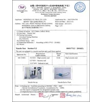 Gc C4001(taiwan) Iso 17712 Cable Seals