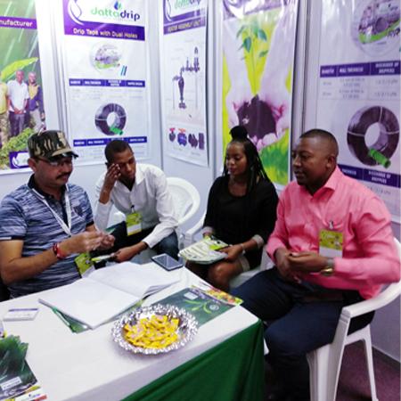 Datta Drip Team At Kenya Exhibition