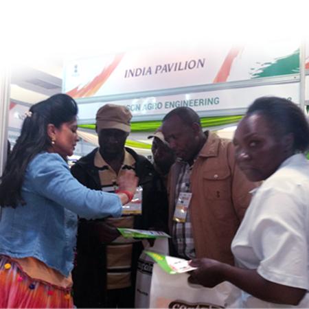 Datta Drip Team At Zimbabwe Exhibition
