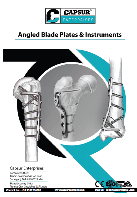 Angled Blade & Instruments