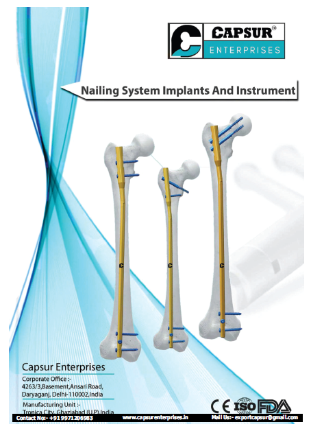 Nailing System Implants & Ins