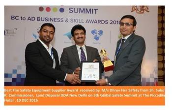 Award Recieved at Delhi