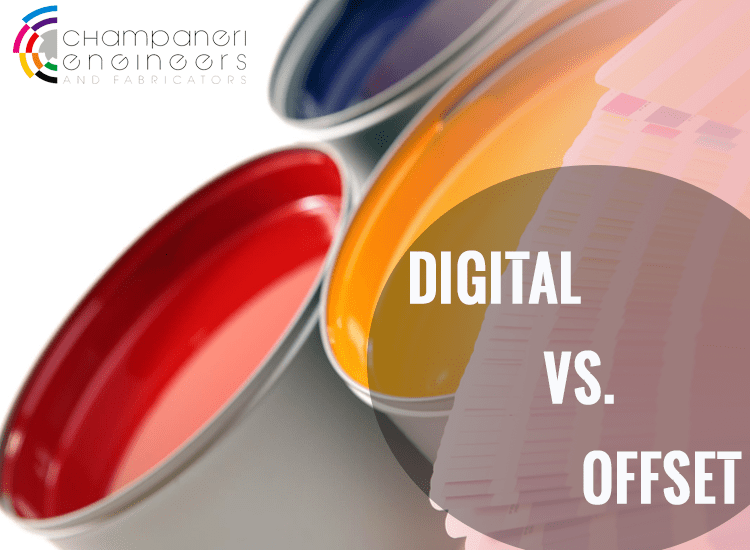 Difference Offset Printing & Digital Printing