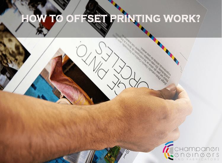How Offset Printing Works?