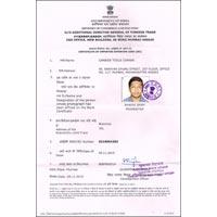 I. E. C. Certificate