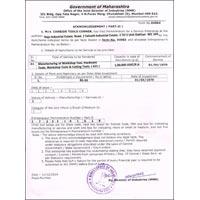 M. S. M. E. Certificate