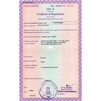 MVAT Certificate