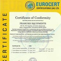 CE Certificate 01