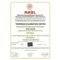 Certificate of Accreditation (National Accreditation Board for Testing and Calibration laboratories, Udaipur) 01