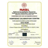 Certificate of Accreditation (National Accreditation Board for Testing and Calibration laboratories, Udaipur) 02
