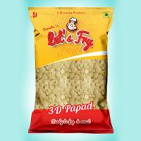 3D Papad 5kg Wholesale Pack