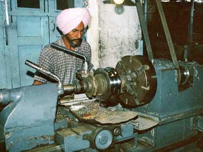 Lathe Machine For Job Work
