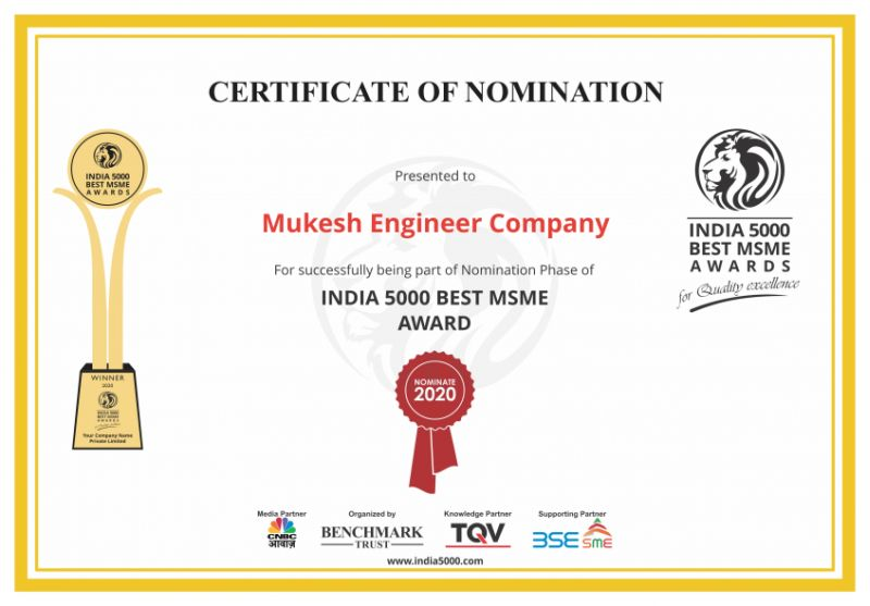 India 5000 Best MSME Awaed